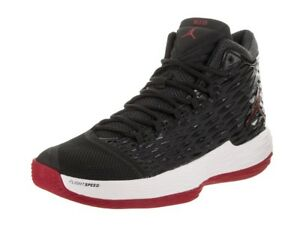 8c9ae5f11132 Image is loading Jordan-Melo-M13-Black-Gym-Red-White-Anthracite-