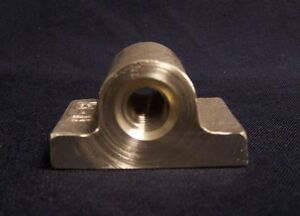 "1 1//4/"" 4 Pitch Left Hand Pillow Type Acme Bronze Nut"