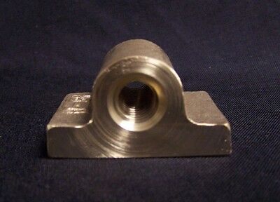 "1/2"" 10 Pitch Left Hand Pillow Type Acme Bronze Nut"
