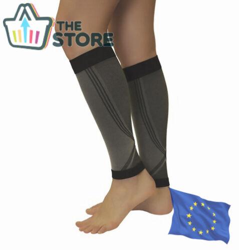 18-21 mmHg COMPRESSION CALF SLEEVES Leg Support Men Women Sports Running Brace