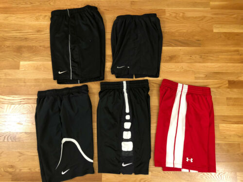 Lot Of 5 Nike Under Armour Mens Small  BASKETBALL