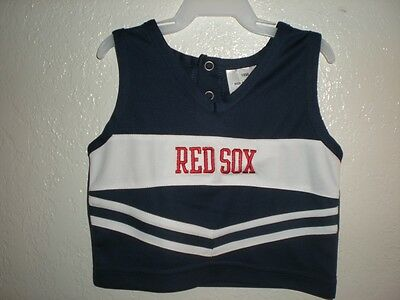 Weitere Ballsportarten Ehrlichkeit New-mended Boston Red Sox Kleinkind Mädchen 18m 18 Monate Süß Jubel Chearleader