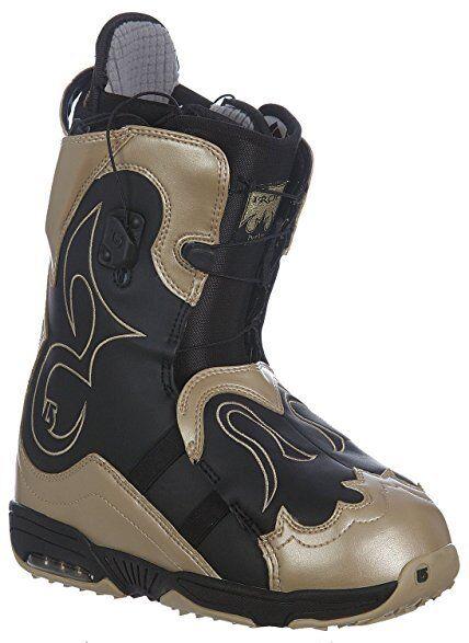 Burton Women Iroc Snowboard Boots (7) gold   Black
