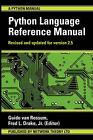 The Python Language Reference Manual by Guido Van Rossum, Fred Drake (Paperback, 2003)
