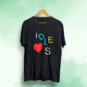 IDLES-Heart-Men-039-s-T-Shirt-S-to-2XL