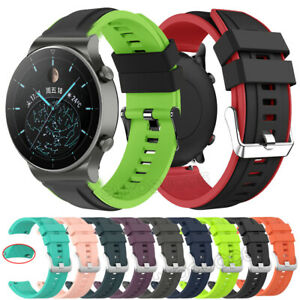 Sports Silicone Wrist Band Strap Replacement For Huawei Watch GT 2 Pro GT 2 46mm