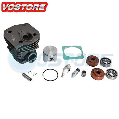 44mm Cylinder Piston Assembly Kit for Husqvarna 350 346 351 353 Chainsaws