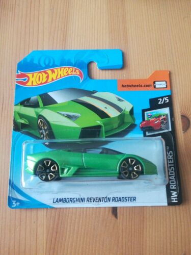 Hot Wheels Lamborghini Reventon Roadster HW Roadsters 2//5 1:64 18//250 2019...