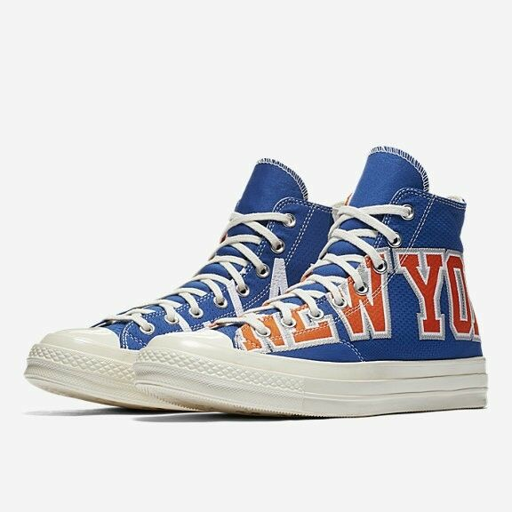 2018 Pares Converse Chuck Taylor 70 Jersey Nueva York Knicks Gameday Jersey 70 Alta Top 0f7870