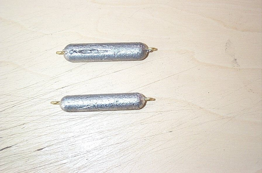 10 PDS PENCIL SINKERS 1 1 4, 1 3 4, 2 1 2 oz. NEW FREE SHIPPING