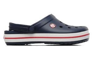 new style c396a de2ac Details zu Damen Crocs Crocband W Clogs & Pantoletten Blau