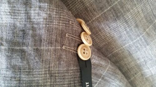 Mis Mod Fit Studio Benvenuto Lino Slim 100 Giacca rocco 98 Nuovo EWBWTqf
