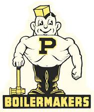 Purdue University  Perdue Boilermakers  Vintage-Looking Travel Decal Sticker