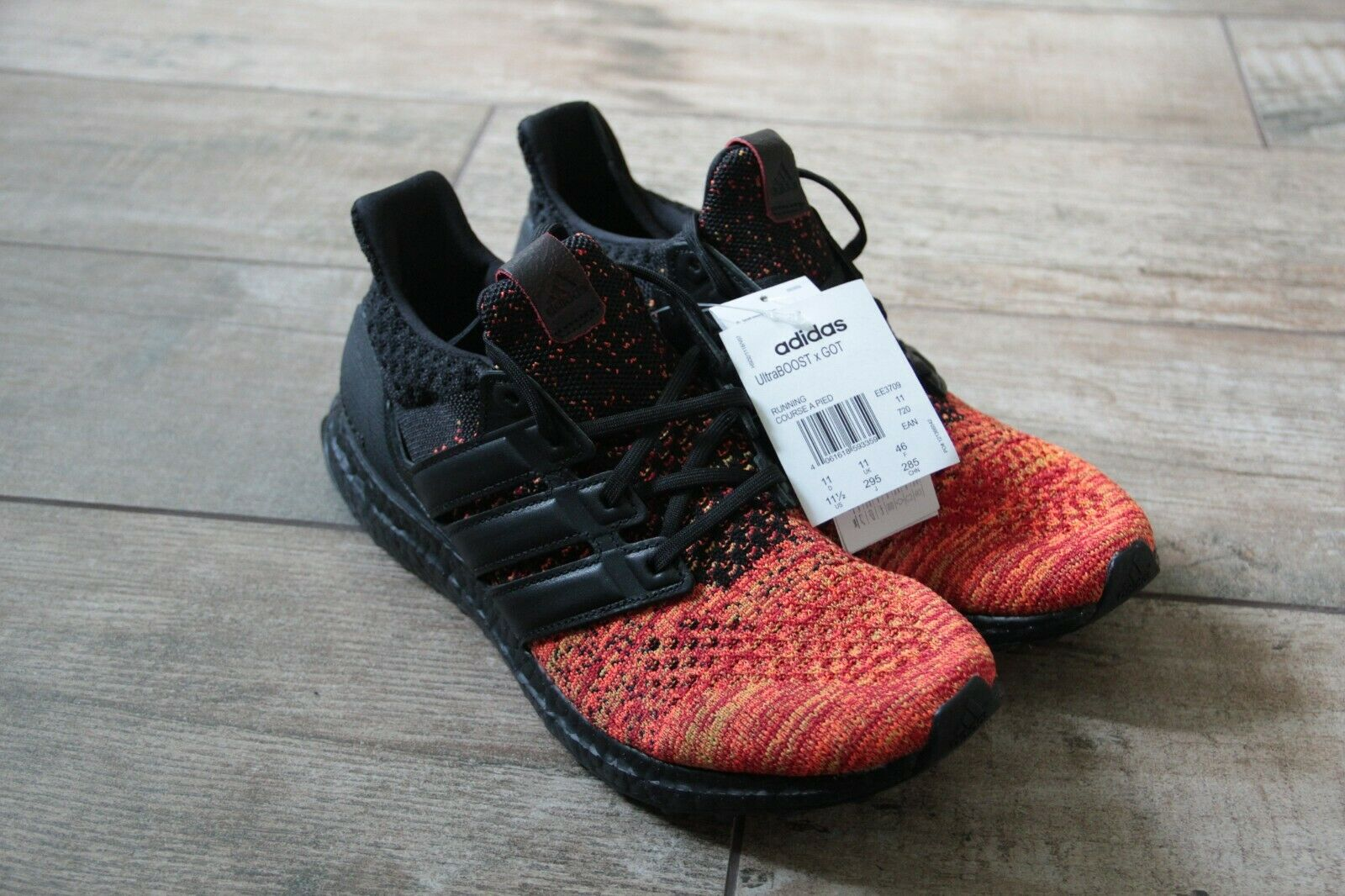 Adidas Ultra Boost Game of Thrones  Targaryen  Größe 46