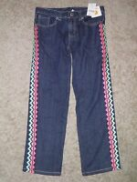 Gymboree wild For Horses Embroidered Blue Jeans Size 8 Plus
