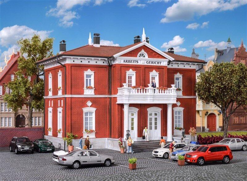 38749 Kibri HO Kit of a Court building