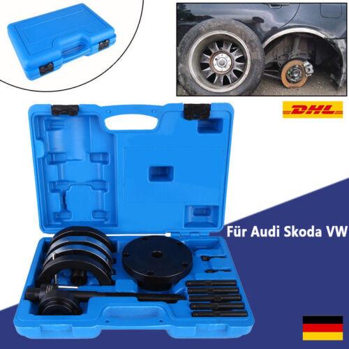 AUTO Radlager Wechsel Radnabe Abzieher Werkzeug Set 72mm für Audi Skoda VW KFZ E