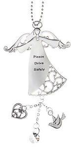 Car Charm Guardian Angel Please Drive Safely.. EA14325