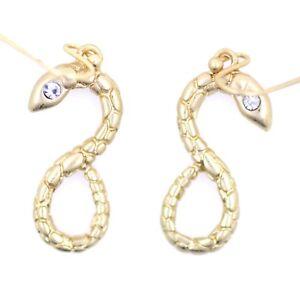 vintage-retro-style-double-sided-gold-snake-dangle-earrings