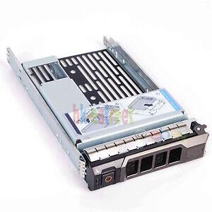"""3.5"""" Tray Caddy W/2.5"""" Adapter Bracket Dell 9w8c4 Y004g F238f R730 R530 T330 430 Le Plus Grand Confort"""
