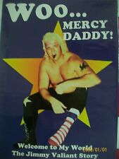 Signed WWE HOF Pro Wrestling Bio Handsome Jimmy The Boogie Man Valiant Owner