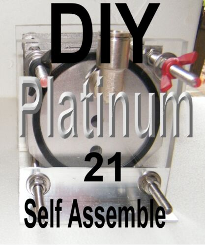 HHO PLATINUM TURBO 21 PLATE BUILD IT YOURSELF  HHO GENERATOR 2 EXTRA FITTINGS