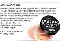 GOSH Mineral Powder provides a smooth, flawless finish – 8 gr./0.3 oz.