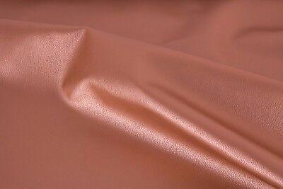 metallic Swafing Rex Breite 140 cm Kunstleder // Lederimitat Farbe Gold