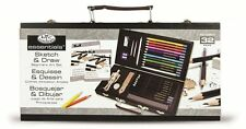 Beginner Drawing Kit Art Set Sketching Supplies Learning Book Case Artist Manual
