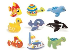Intex wasserspieltier aufblasbare tiere kinder baby pool for Aussenpool aufblasbar