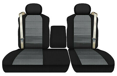 Driver Side Bottom Leather Seat Cover Gray 2001 2002 Ford F150 Lariat SuperCrew