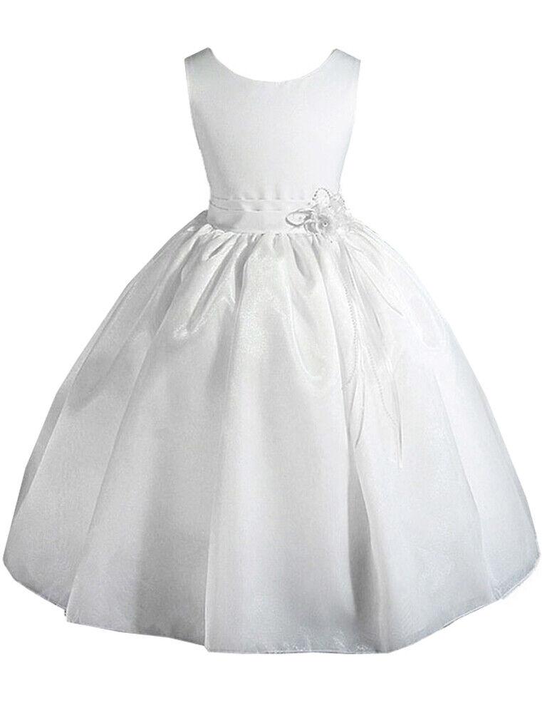 *Clearance* 90 x Little /Big Girls' Wedding Flower Girl Pageant Holiday Dress