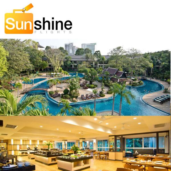 Hotel Pattaya Green Park Resort 3,5 Stelle Hotel Pattaya Hotel Thailand Evidente Effetto