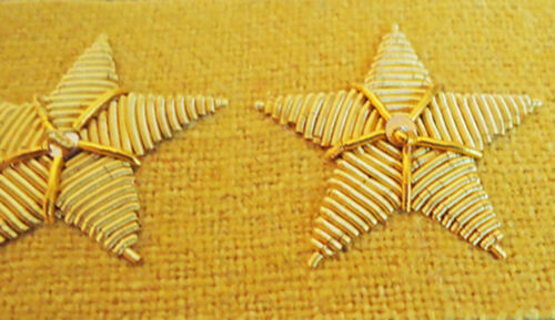 American Civil War ACW Confederate Cavalry  Colonels Collar Insignia Badges New