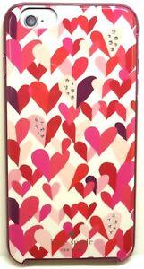 IPhone-6-S-plus-de-cas-slim-Crystal-Pierres-pretty-hearts-original-Kate-Spade