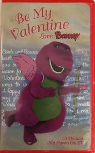 Barney- Be My Valentine- Love Barney (VHS 2000 Lyricks ...