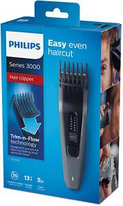 PHILIPS-HC-3520-Trimmer-Bart-Haar-Schneider-Haarschneidemaschine-Schwarz-AKKU