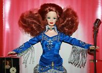 Barbie Grand Ole Opry Collector Edition Rising Star Barbie With Musical Cd 1998