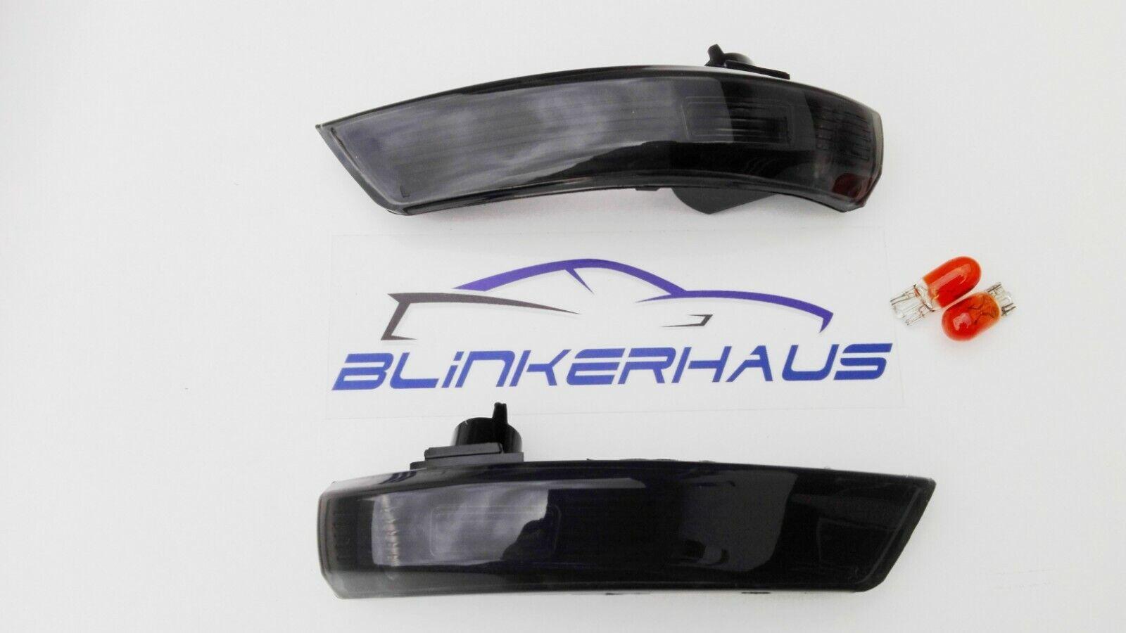 Espejo De Ala Repetidores Laterales ahumado Ford Focus RS Mk2