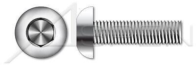 AISI 304 Stainless Steel #6-32 X 1//4 18-8 Flat Socket Cap Screws 150pcs Hex Socket Drive
