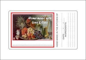 Preserves-Jam-Jar-Labels-Stickers-Picture-of-Fruit-Laser-Printed