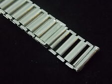 Vintage Old Military USA Made Forstner 16mm Bamboo Bonklip style watch band