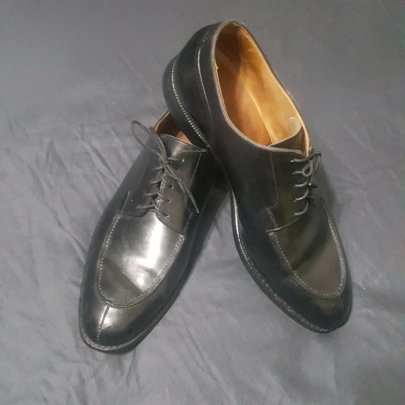 shopping online di moda PEAL & & & CO.Made In England For  Brooks Brothers  nero Oxford scarpe   9 1 2 E  prezzi più convenienti