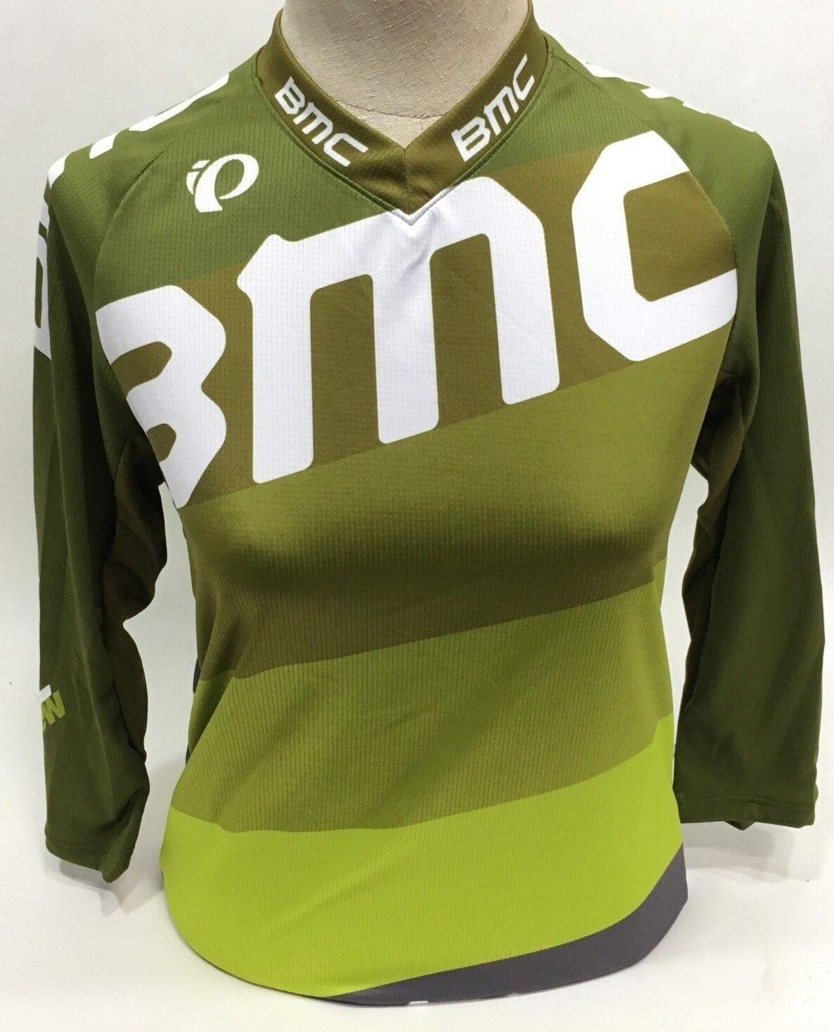 Pearl Izumi BMC Trailcrew Mountainbike Trikot Weit Limone Damen - L - 215446