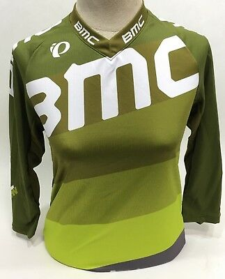 Pearl Izumi BMC Trailcrew Mountain Bike Jersey Baggy Lime 215440 XL