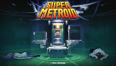Super Metroid - High Quality Poster  20 inch x 30 inch ( Fast Shipping )  1121