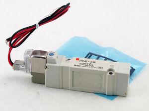 smc sy5140 5lou 5 port rubber seal solenoid valve 24vdc rh ebay com
