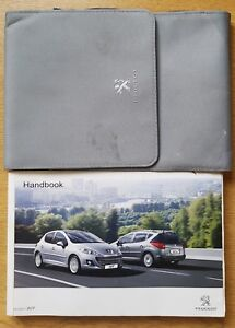GENUINE-PEUGEOT-207-AND-SW-OWNERS-MANUAL-HANDBOOK-WALLET-2009-2013-PACK-E-228
