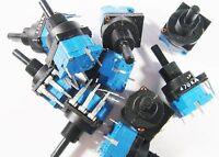 100 X Poti 470k Potentiometer + Schalter 250v 10a 1p80