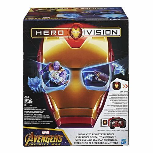 Marvel Avengers infinity war hero Vision Iron Man AR expérience